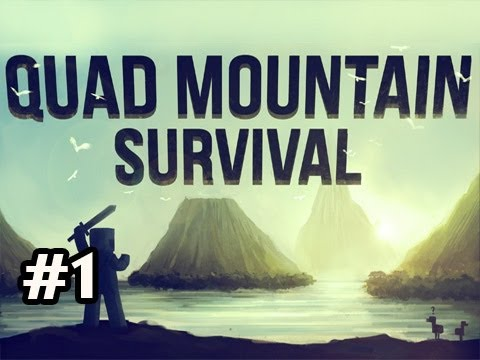 Minecraft: Quad Mountain Survival w/Nova Ep.1 - And So It Begins..