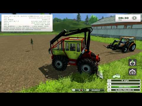 Farming Simulator 2013 MOD REVIEW Forest Mod 1.0 Beta by bm modding