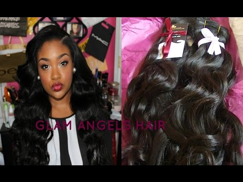 Glam Angels Hair Initial Review  Brazilian Body Wave