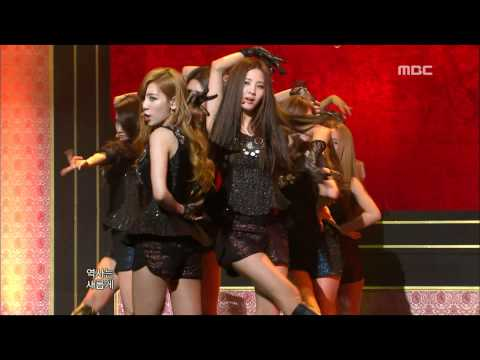 Girls' Generation Snsd - The Boys 소녀시대 - 더 보이즈 Music Core 20111112 video