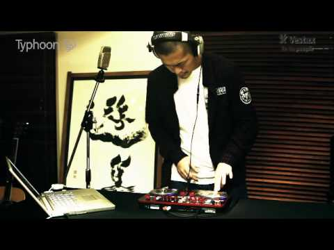 Vestax Typhoon DJ MIDI Controller Demo By DJ HOKUTO!
