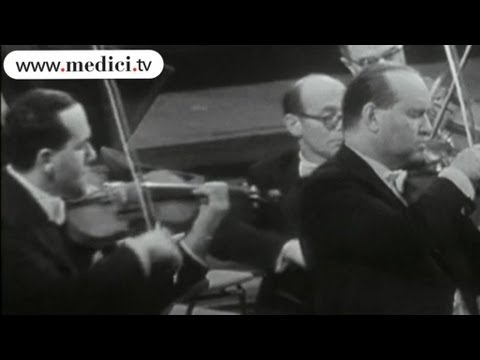 David and Igor Oistrakh - Bach - Concerto for Two Violins
