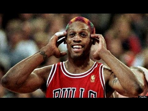 Dennis Rodman ~ Ultimate Highlight Reel  HD