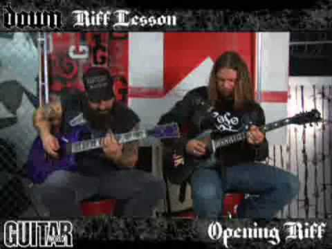 Down Riff Lesson (Part 2 of 2)