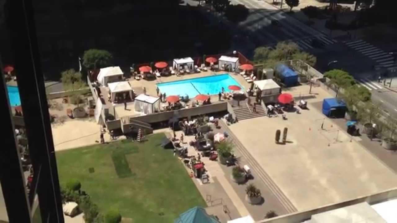 Westin Bonaventure Pool Westin Bonaventure Pool