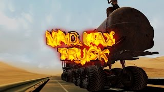 WAR RIG - Mad Max Fury Road in ETS 2 Mod - Monster Rock Fire Valhalla Ride Doof Wagon
