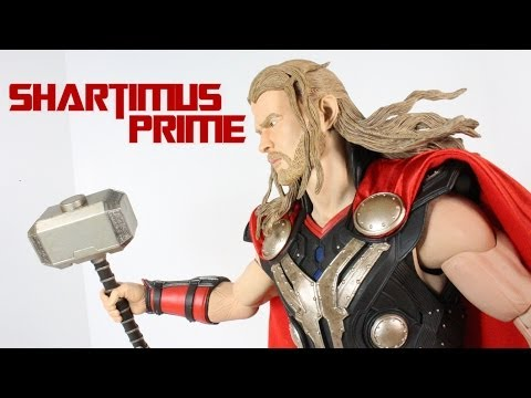 NECA Thor The Dark World 1/4 Scale 18 Inch Movie Figure Review
