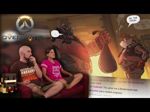 Wasted Land Comic Reading!   Overwatch AWESOME!