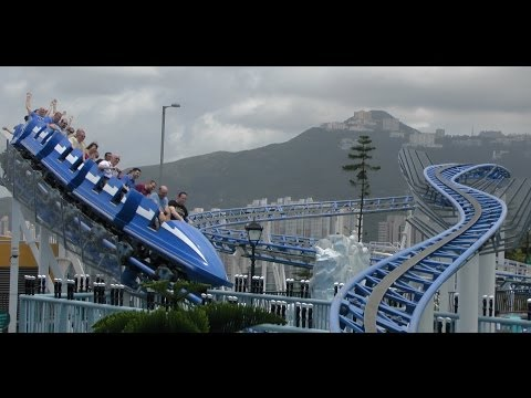 Arctic Blast - Ocean Park, Hong Kong (incl POV)