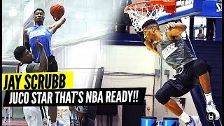 TOP-RANKED JUCO PLAYER JAY SCRUBB IS NBA READY!! JOHN A LOGAN BASKETBALL JAMBOREE HIGHLIGHTS!