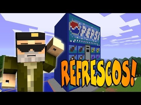 REFRESCOS!!   VENDING MACHINE - MINECRAFT MOD