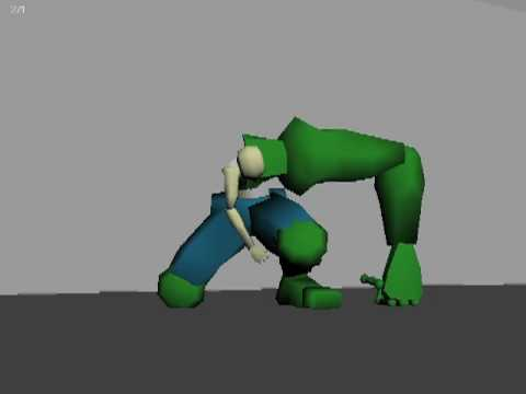 Hulk Transformation v2 - YouTube