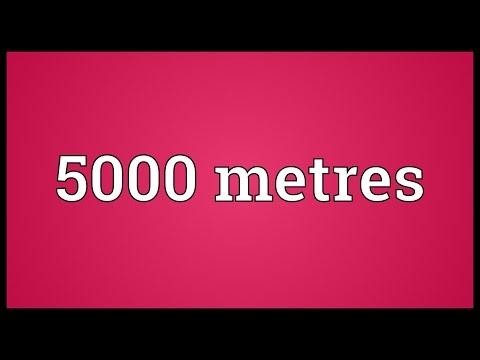 Header of 5000 metres