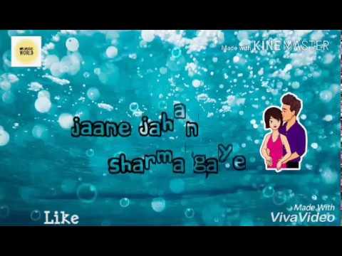 O Mere Dil Ke Chain ||Whatsapp Status|| - ||Rahul Jain||