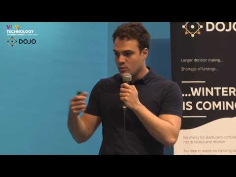Domoscio at VivaTechnology PARIS 2016 (Challenge Dojo - Skema)