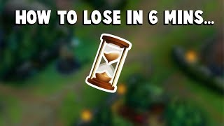 When Froggen Got the Team that LOST game in 6 MINUTES... | Funny LoL Series #262