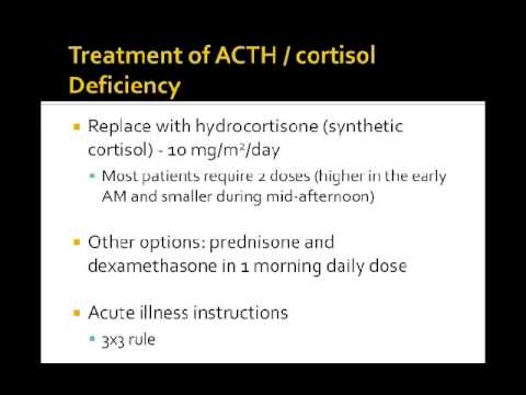 Pituitary Hormone Replacement