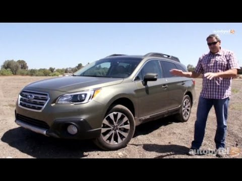 2015 Subaru Outback 2.5i Limited Test Drive Video Review