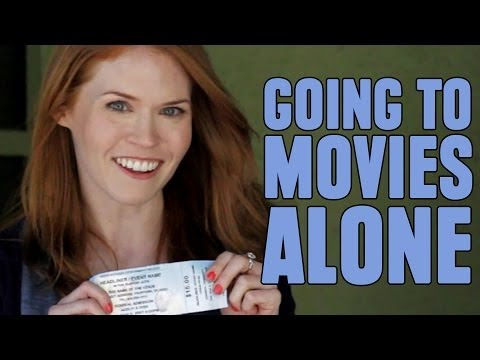 Why You Should Go to the Movies Alone