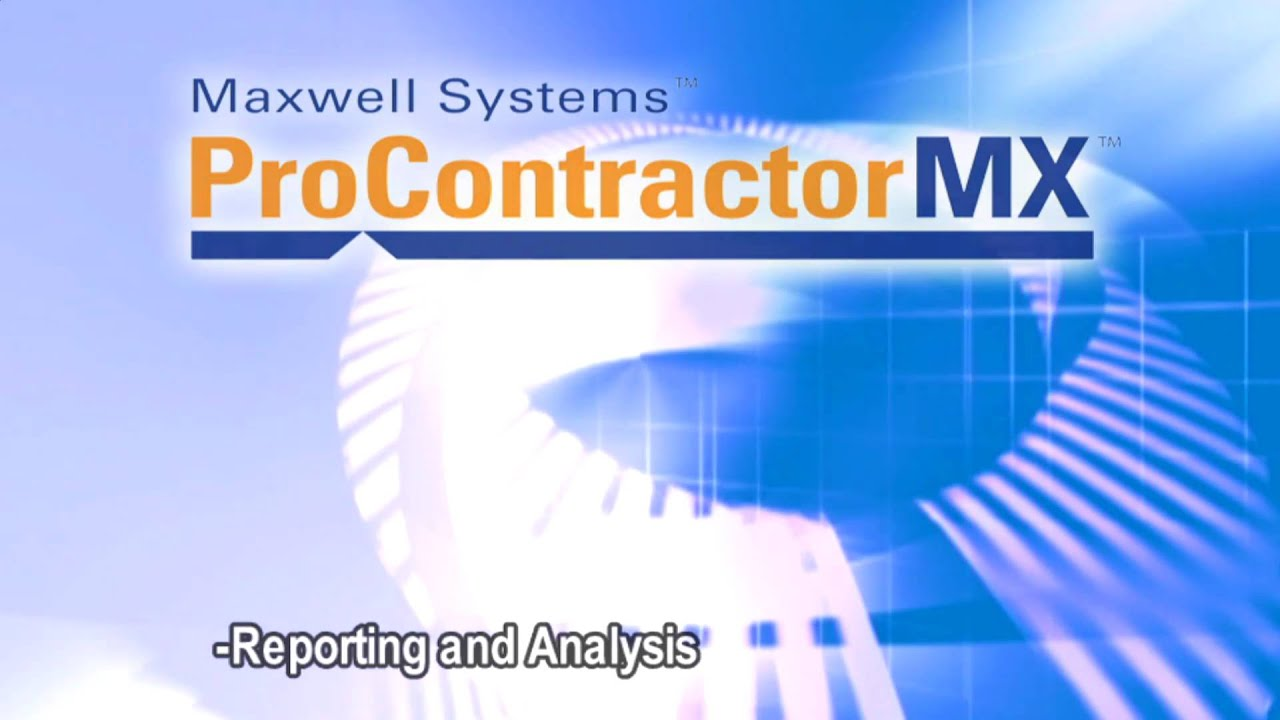 construction software maxwell construction software