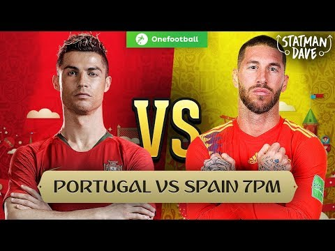 Portugal 3-3 Spain | Statman Dave Live