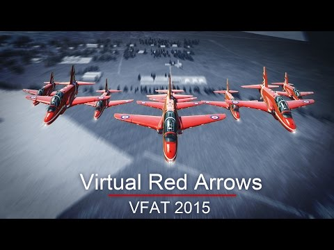 LIVE SHOW at VFAT 2015 - Virtual Red Arrows