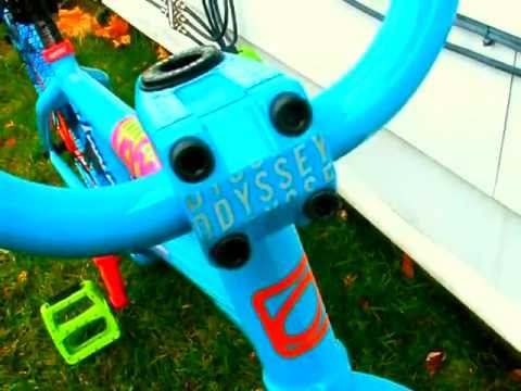 My ocean blue sunday funday aaron ross bmx bike check version 2