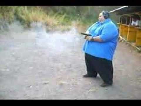 how to hold a gun when not firing