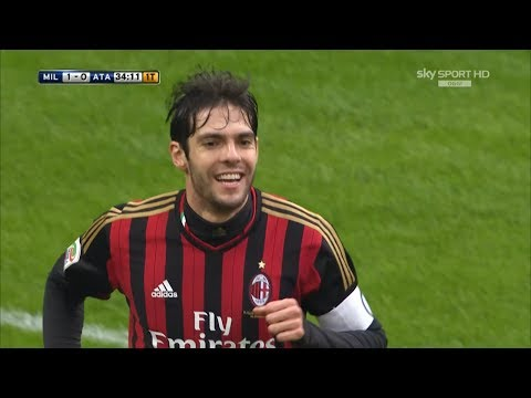 Ricardo Kaká vs Atalanta (06/01/14) HD 720p by Yan