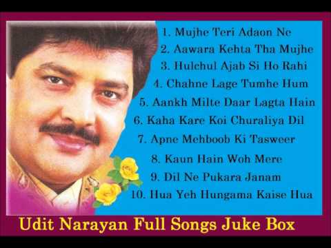 Udit Narayan Songs Juke Box - Full Songs - Click On Songs To Listen