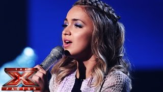 Lauren Platt sings Demi Lovato's Let It Go | Live Week 3 | The X Factor UK 2014