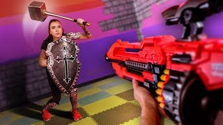 NERF Dungeons & Dragons Challenge! [Ep. 4]