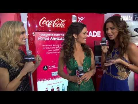 Danica McKellar Red Carpet Interview - AMAs 2014