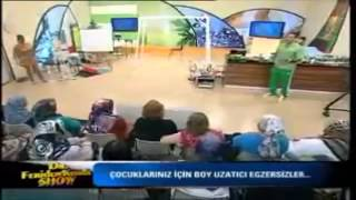 Dr Feridun Kunak Boy Uzatan egzersizler video