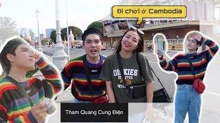 Ngày Đầu Ở Campuchia - Và Trong Balô Bảo Có Gì ?