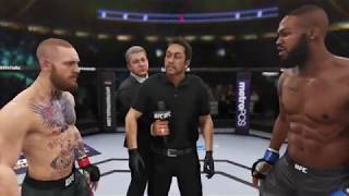 Conor McGregor vs Jon Jones (EA sports UFC 3) - CPU vs CPU