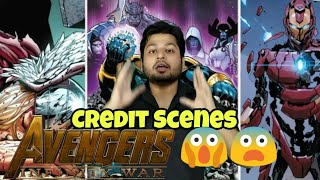 Avengers Infinity War Credit Scenes Explained in Hindi