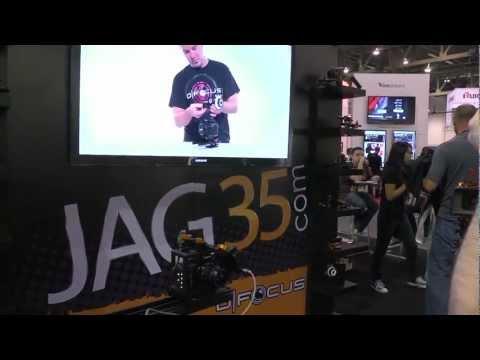 Jag35 Wireless Lens Control - NAB 2012 - MagnanimousRentals.com