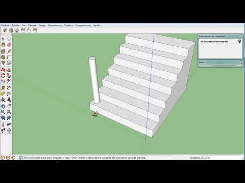 Mover y Copiar en español Part 1 - Sketchup