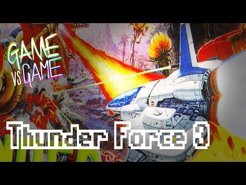 Thunder Force 3 vs Thunder Spirits - Genesis vs SNES - Game vs Game