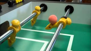 Foosball Aerial Shot (MultiCam HD Slow Motion Trick Shot) - Tornado Foosball Table