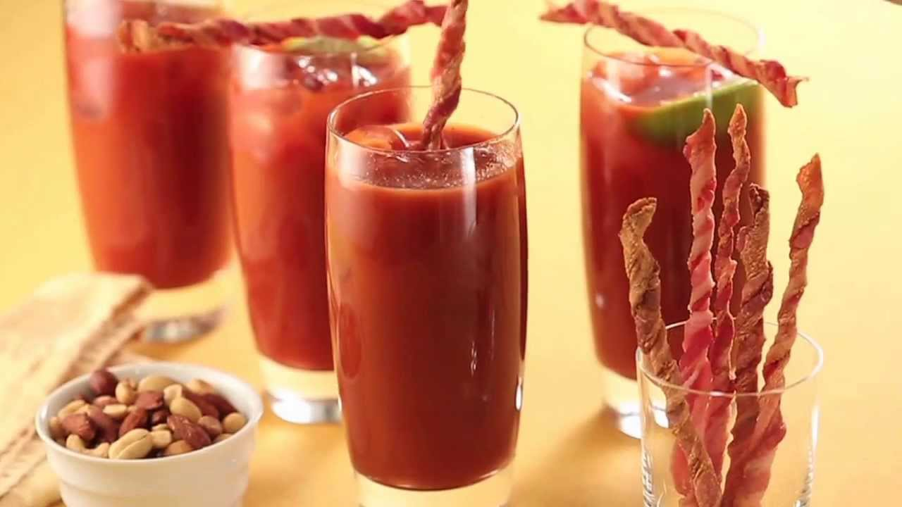 How to make Bacon Swizzle Sticks - YouTube