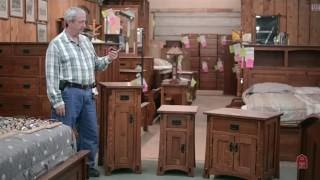 Barn Furniture - Mission Style Arts and Crafts Night Stands