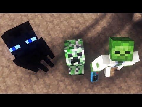 Minecraft Animation: Trinity Moon Full Animated Movie