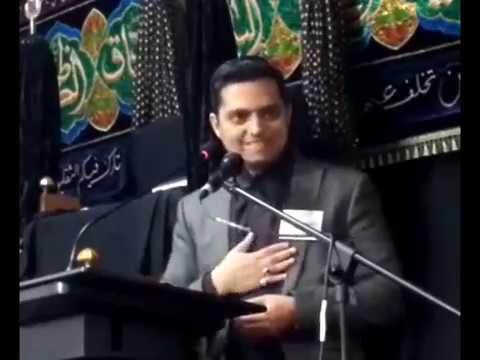 Maulana Afzal Hayderi 5th Muharram Birmingham (UK)