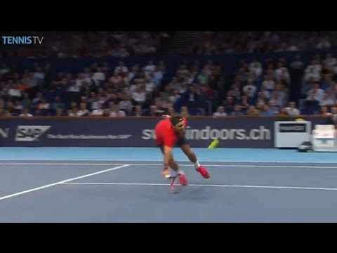 Watch Hot Shot As Roger Federer Shows Magic At The Net