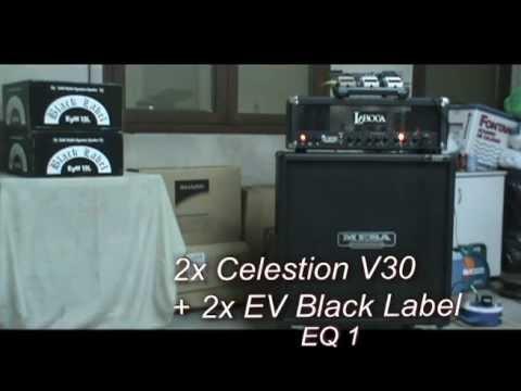 Celestion V30 Vs EVM12L (Black Label) + Laboga Mr Hector
