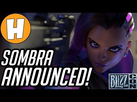 SOMBRA, NEW MAP, ARCADE MODE ANNOUNCED! Overwatch BlizzCon News | Hammeh