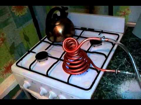 Как нагреть воду в домашних условиях