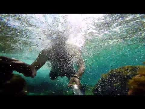 Majorca 2015 Snorkel Catching Fish GoPro Style